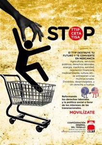 Cartel TTIP castellano castellano_2
