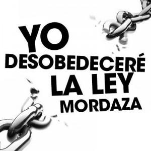desobedecerLeyMordaza